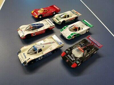 Scalextric Le Mans Jaguar Porsche Cars Collection • 59.99£