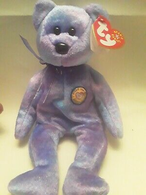 Ty Babies Bears . Clubby IV Date Of Birth 4th August 2001 Official Club Edition  • 4.99£