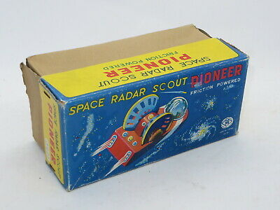 Vintage EMPTY BOX For Tinplate Toy MASUDAYA SPACE RADAR SCOUT PIONEER FRICTION • 49.99£