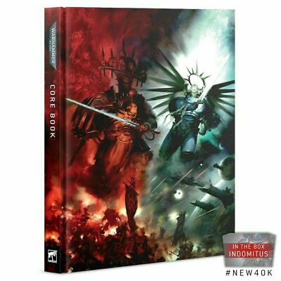 Warhammer 40k 9th Edition Indomitus Special Edition Rulebook PRE ORDER FAST Post • 24.50£