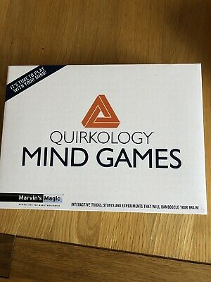 Quirkology Mind Games. Marvins Magic. New & Sealed • 9.50£