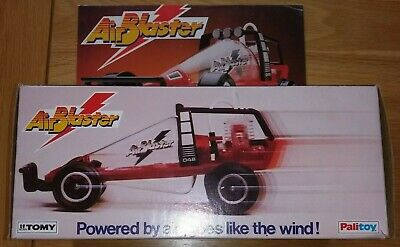 Tomy Palitoy AirBlaster Complete With Box, Pump, Instructions In Good Condition • 0.99£