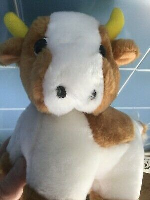 Cuddly Cow Soft Plush Toy Spotless • 1.99£
