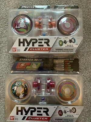 2 X Packs Hyper Cluster Starter Pack Yo-Yo Sets • 12.99£