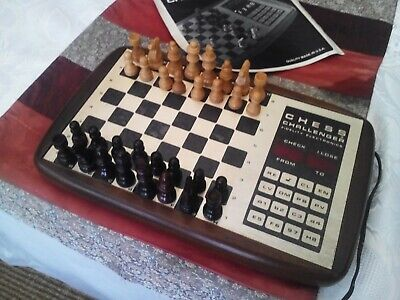 Vintage Fidelity Chess Challenger  10  Electronic Suitcase Chess Set • 50£