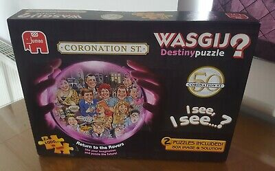 Wasgij Jigsaw 1000 Piece 2 Puzzles Return To The Rovers Destiny Puzzle • 3.80£