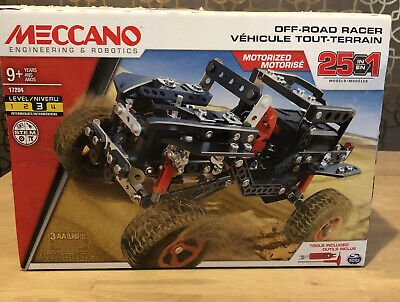Meccano Off Road Racer 25 In 1 Set • 0.99£