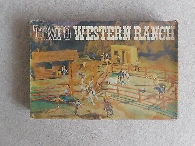 Timpo Western Ranch. Boxed And Rare • 150£