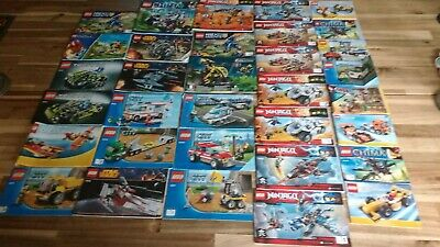 Lego Instruction Booklets Bundle • 8£