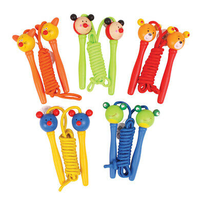 Bigjigs Toys Children's Coloured Skipping Ropes (Pack Of 2) Active Outdoor • 7.98£