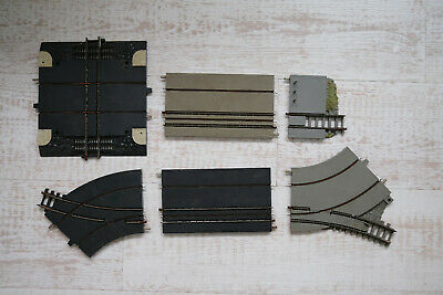 Minic Motorway Road Rail Track 6 Pieces. Compatible With Triang Hornby 00 Rail • 32.99£