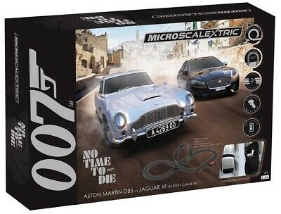 Micro Scalextric G1161 James Bond Set - No Time To Die (Battery Operated) • 48.99£