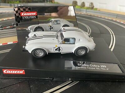 Scalextric Carrera Evolution Shelby Cobra 289, '63, #4 • 49.50£