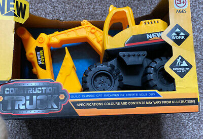 Toy Digger Excavator Brand New In Box Small Toy • 3.50£