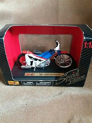 Maisto 1:18 Scale Speedway Bike Special Edition. • 3£