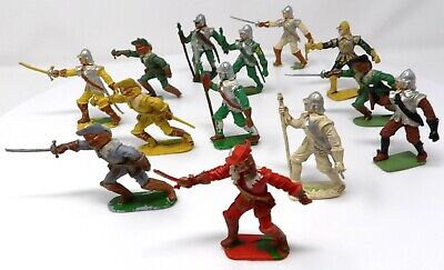 Vintage Cherilea Cavaliers And Roundheads. X 13. Toy Soldiers.  • 9.99£
