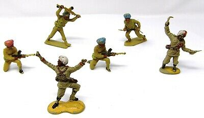 Vintage Cherilea And Crescent WW2 Indian Infantry. • 11.99£