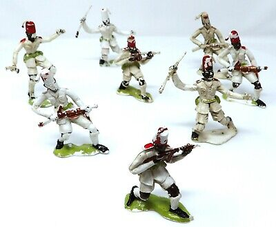 Vintage Cherilea King African Rifles X 8. RARE. Toy Soldiers.  • 24.99£