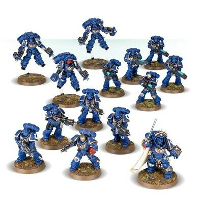 Space Marines Half (know No Fear) Warhammer 40k Starter Set Games Workshop  • 35£