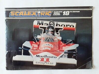Scalextric Catalogue 1977 18th Edition • 0.99£