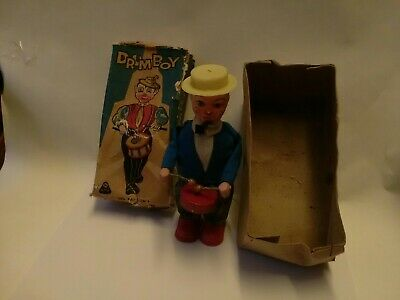 Vintage Rare Drum Boy Clockwork Figure Made By RMC  Germany Boxed  • 49.99£
