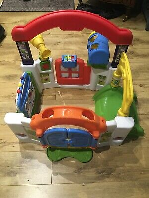 Little Tikes Activity Garden House Play Centre Baby Toy  Baby Station • 5£