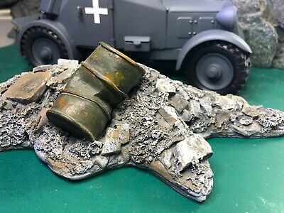 1/24  Of 70 Mm VS Tank Rubble Suitable For Display On Soldiers Or Vehicles • 19.50£