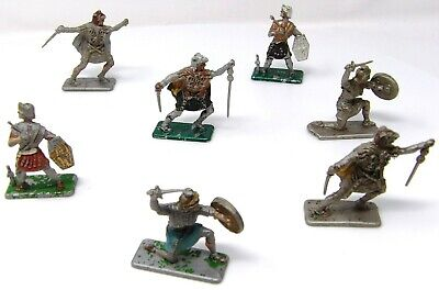 Vintage And RARE. Crescent ROMANS X 7. Toy Soldiers 54mm. • 19.99£