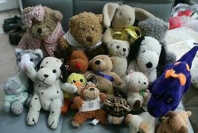 Cuddly Toy Collection, 18 Animals • 3.99£