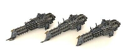 3 Battlefleet Gothic Imperial Space Ships Bfg Painted Lot 3 • 21£