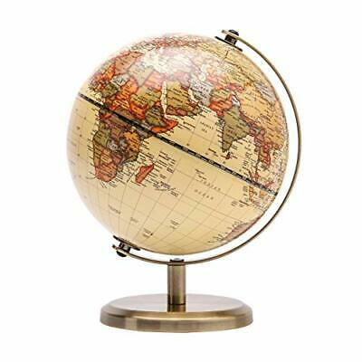 Exerz TOPGLOBE 14cm World Globe - Educational/Geographic/Modern Desktop • 18.99£