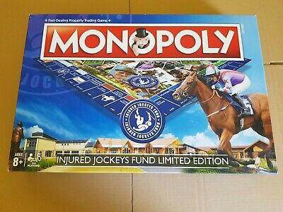 Monopoly EXTREMLEY RARE Injured Jockey Fund Complete In Excellent Condition. • 16£