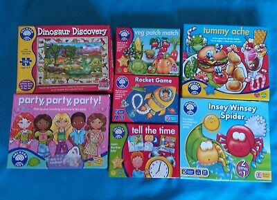 Orchard Toys Educational Games Bundle ~ 7 Games 3+ Years Home Learning • 16.99£