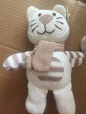 Cat Knitted Soft Toy Tiny Treasures • 4.90£
