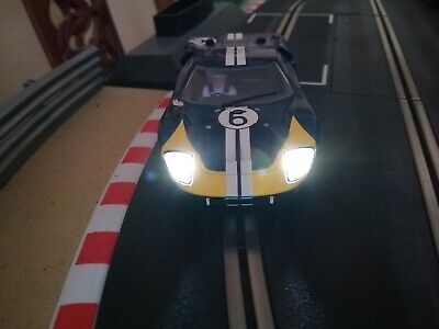 Scalextric 1:32 Slot Car - Ford GT40 - C3097- Lights - RARE  • 5.50£