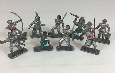 Job Lot Plastic Crescent Medieval Soldiers  • 19.95£