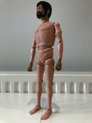 Vintage Action Man With Beard • 30£