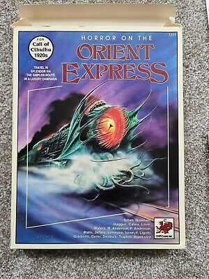 Cthulhu Horror On The Orient Express Virtually Mint • 175£