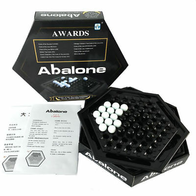 Family Puzzle Board Game Abalone Board Game Kid Marble Interest Strategy Marbles • 11.90£