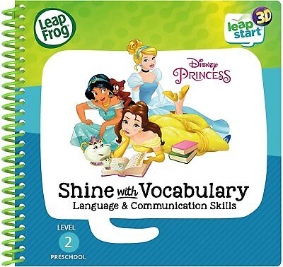 LeapFrog LeapStart Activity Book: Disney Princess Shine With Vocabulary (3D) • 9.99£