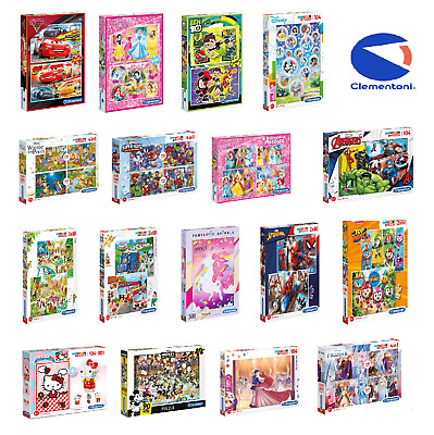 Clementoni 20 - 500 Piece Jigsaw Puzzle For Children - More Options To Choose • 12.99£