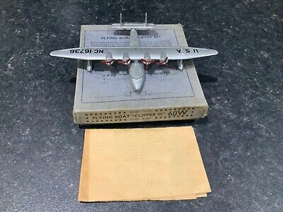 Dinky Toys Prewar 60w Flying Boat Clipper 111 Boxed Aircraft  • 99.99£