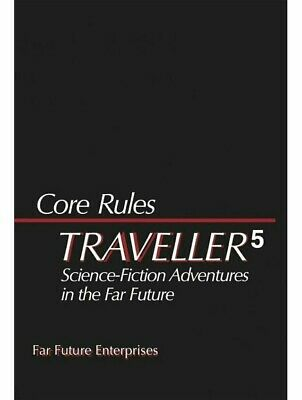 Traveller 5 Core Rules Set Hardcover Slipcase FFE Games RPG Roleplaying Game • 79.99£