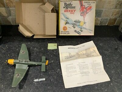 Dinky Toys 721 Junkers JU 87B Battle Of Britain Boxed • 115£