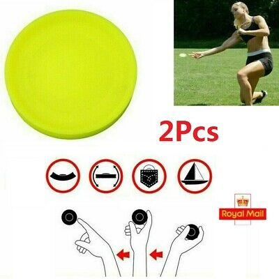 2X Mini Frisbee For Bootcamp Outdoor Exercise Training Classes Gravity Disc UK • 4.99£