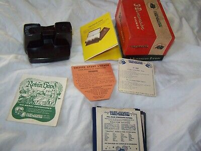 Vintage Sawyers 3-D View-master Viewer & Accessories & Instructions Boxed 1950s  • 34.99£