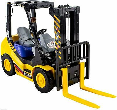 6-Channel Electric Remote Control Forklift - Functional RC Lighted Truck Toy • 24.99£