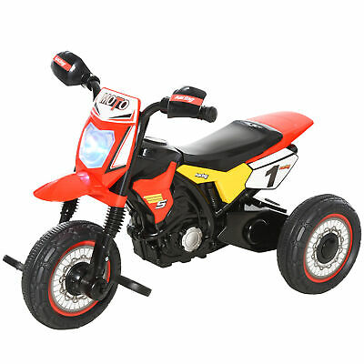 Kids Pedal Bike Childrens Toy Ride-on Tricycle Toddler Training Wheels Red Black • 47.99£