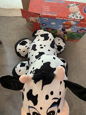 Inflate-a-mal Cow No Pump Included Children's Ride On Toy • 9.99£