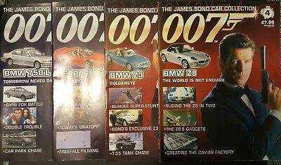 James Bond Car Collection - Pierce Brosnan - Goldeneye - Tomorrow Never Dies... • 25£